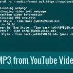 Как скачать MP3-треки из YouTube с помощью YouTube-DL