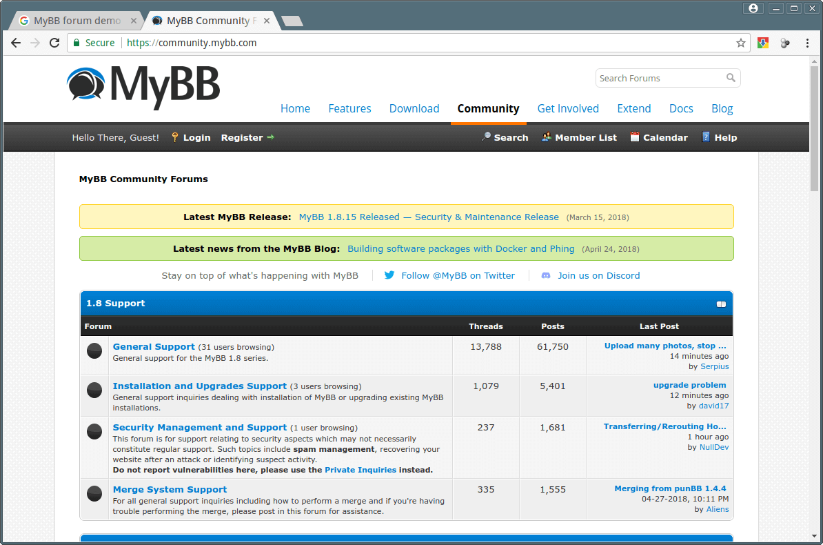 MyBB Community Forum
