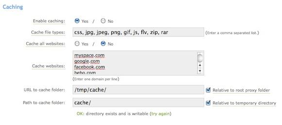 Создание прокси-сервера для просмотра веб-страниц