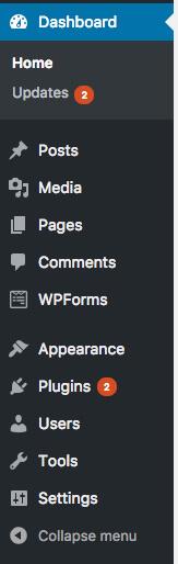 Боковая панель WordPress